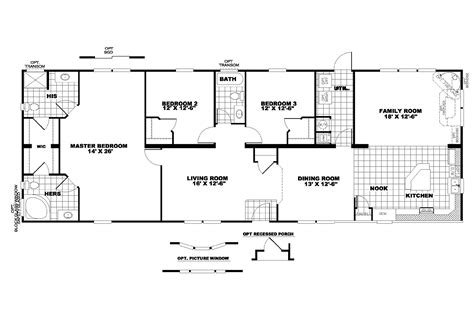 floor plans clayton homes manufactured home floor plan 2008 clayton the riverview 28gma28763ah08