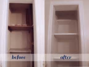 bathroom closet shelving ideas beautifully contained bathroom closet makeover