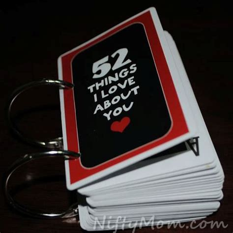 52 things i about you template thoughtful diy s day gifts for your loved one
