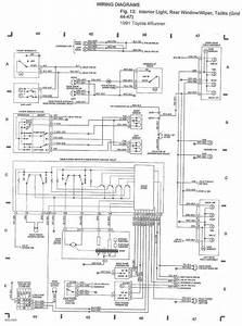2001 Toyota 4runner Wiring Diagram