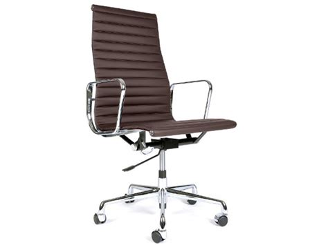 eames chair alu ea119 brown