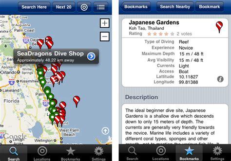 Dive App by 5 Iphone Apps For Divers Scuba Diver