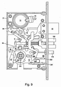 33 Mortise Lock Repair Diagram