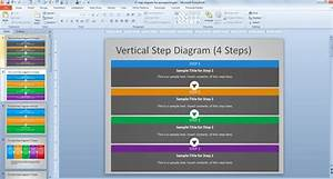 Free Steps Diagram For Powerpoint