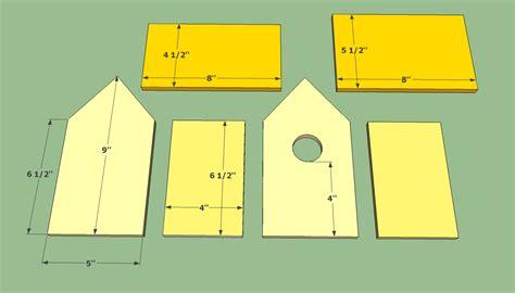 bird house plans wooden birdhouse plans kids pdf woodworking