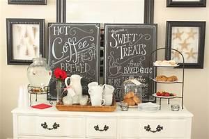 Create Your Own Coffee Bar Coffee Corner Imchacha