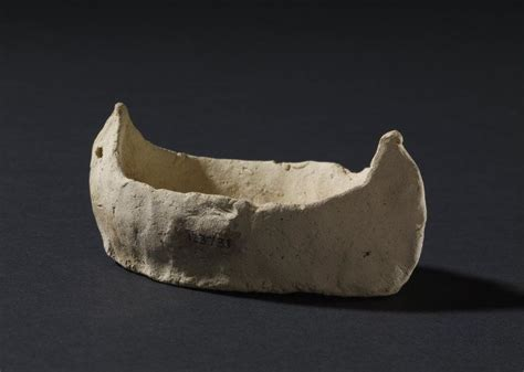 Clay Boat by The Clay Boat Model Unearthed From The Royal At Ur