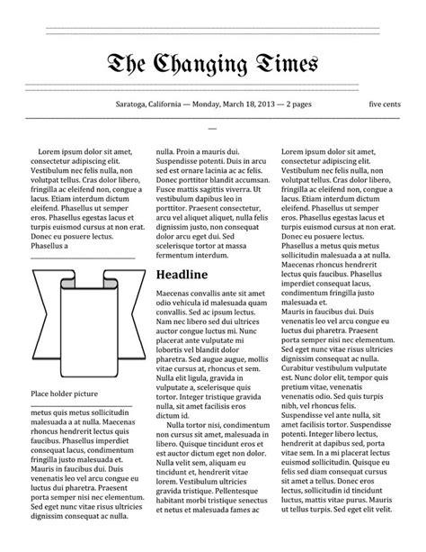 tutorial template newspaper sales proposal template free download create edit fill
