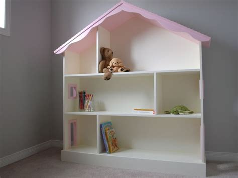 wooden dollhouse bookshelf crafted dollhouse bookcase by clark wood creations