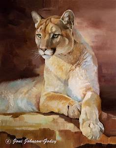 Original Paintings - Joni Johnson-Godsy Wildlife Art Oil ...