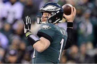 Wentz Carson Eagles Philadelphia James