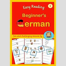 German For Beginners Easy Reading Texts And Worksheets  Texts, Kid And Reading