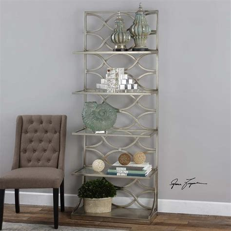 Silver Etagere by Uttermost Lashaya Silver Etagere 24622
