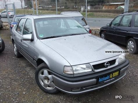 opel vectra 1995 1995 opel vectra cdx car photo and specs