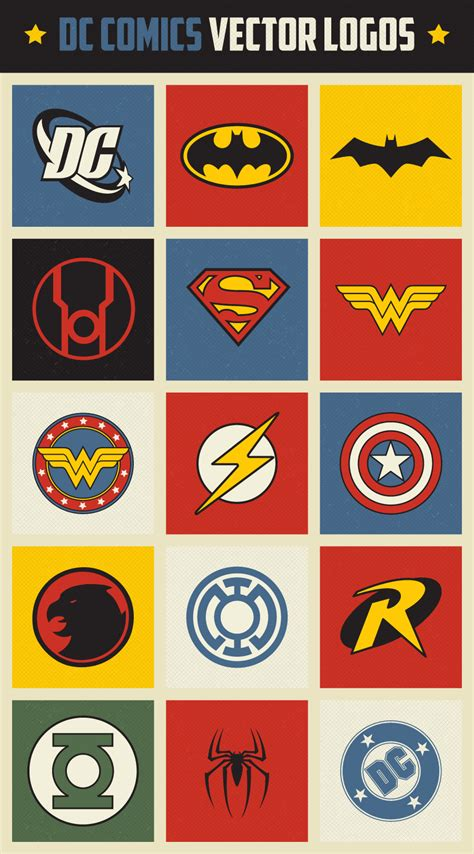 printable dc superhero logos joy studio design gallery best design