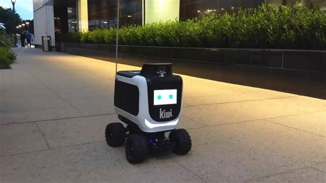 kiwi bots roll   westwood areas food delivery