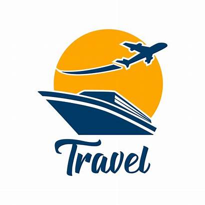 Travel Tourism Vector Background Isolated Tours Sea