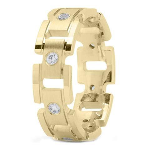wedding band yellow gold men s rolex diamond wedding ring jewels pinterest wedding
