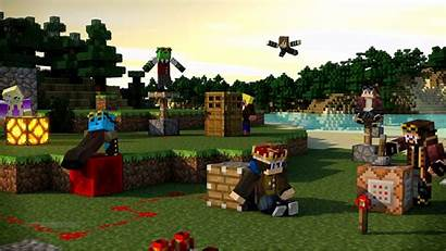 Minecraft Cool Wallpapers Awesome Backgrounds Wallpaperaccess