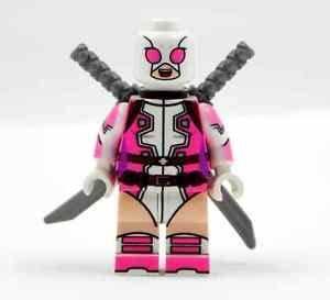 Lego Marvel Super Hero Gwenpool Gwen Stacy Deadpool Custom ...