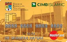 Besides, cimb also offers attractive cimb credit cards include a balance transfer facility whereby cardholders are allowed to transfer in full or in part (subject to min. CIMB Islamic UKM MasterCard - Never Stop Learning