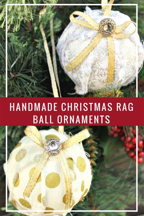 sorelle handcrafted christmas bulbs handmade rag ornaments