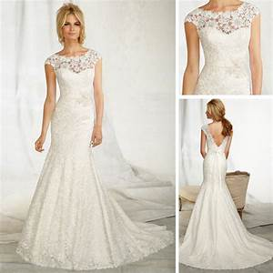 amazing vintage lace fishtail wedding dresses ipunya With fishtail wedding dresses