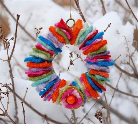 Wool Wreath Craft