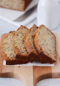 Sour Cream Banana Bread Recipe   One Bowl - Cravings Happen