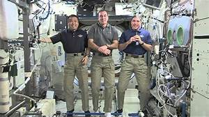 International Space Station Crew Discusses Life in Space ...