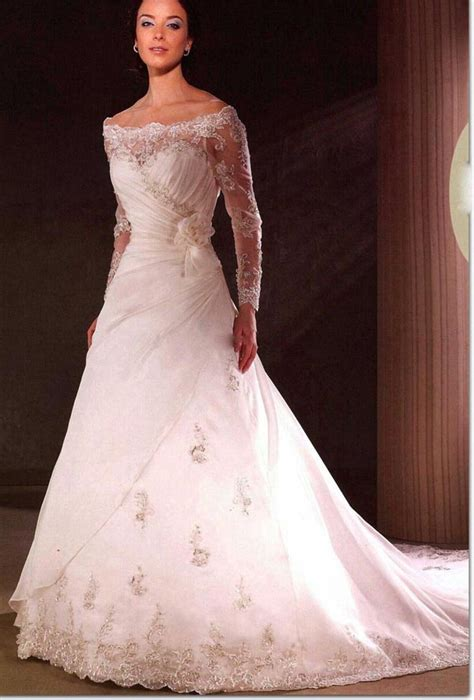 Permalink to Simple Wedding Dresses With Sleeves
