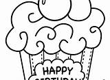 Birthday Happy Grandpa Dad Coloring Drawings Mommy Cupcake Drawing Pages Elmo Clipart Printable Muffin Fathers Clipartmag Adults Line sketch template