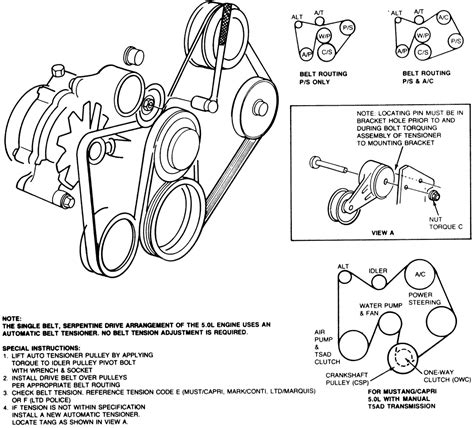 Mustang Water Pump Assistance Please Ford Truck
