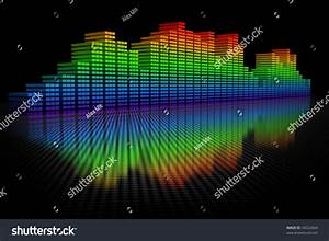 3d Equalizer Display Stock Photo 56022664 : Shutterstock