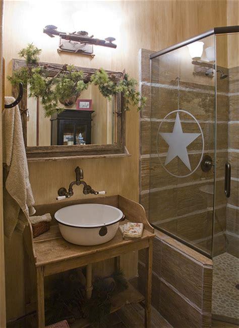 Western Themed Bathroom Ideas by By Design Interiors Cowboy Theme Bathroom Flickr
