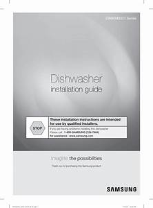 Samsung Dw80m3021us Dishwasher With Stainless Steel Tub