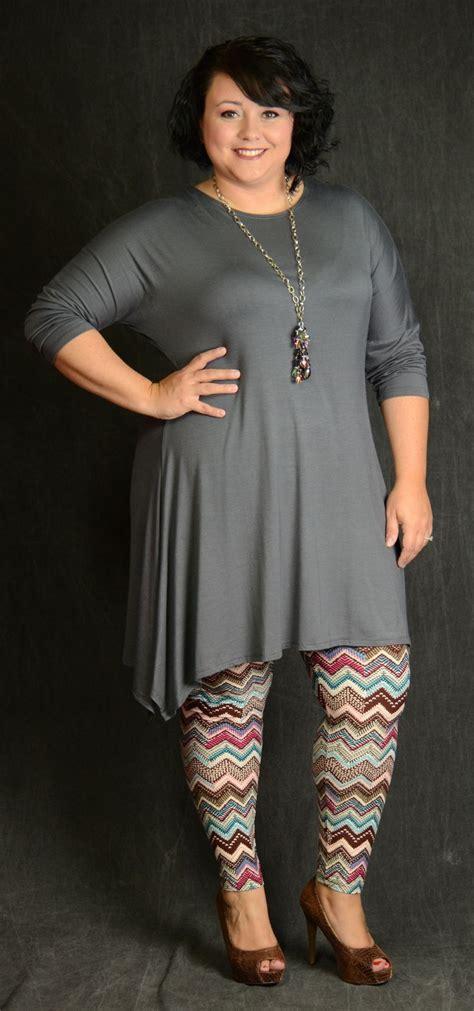 Best 25+ Plus size leggings ideas on Pinterest | Plus size legging outfits Casual plus size ...