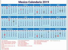 Calendar For 2019 Mexico newspicturesxyz