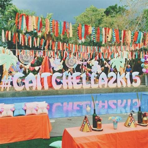 birthday party ideas rookie 172 best images about coachella party ideas on