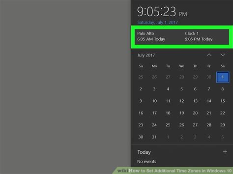 How To Set Additional Time Zones In Windows 10