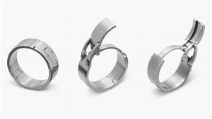 hinged wedding rings mens wedding bands With hinged wedding rings