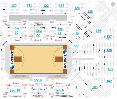 san antonio spurs seating chart att center tickpick