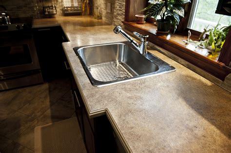 comptoir cuisine corian acrylic belted laminate countertop solutions comptoirs