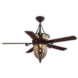 52 quot hton bay tiffany style ceiling fan and light
