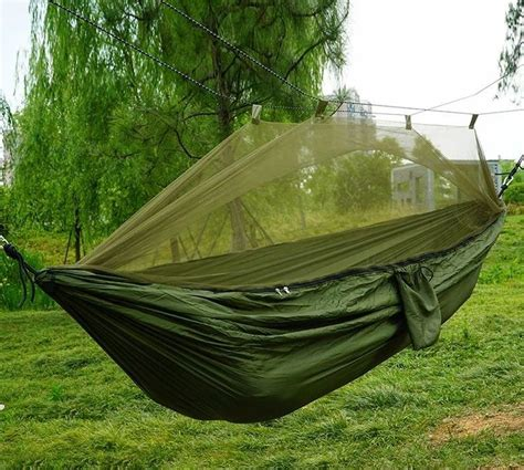 Net Hammock by Tourist Hammock With Mosquito Net Olive