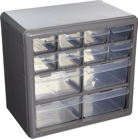 Drawer Containers by Storage Organizer Cabinet 12 Plastic Drawer Boxes Parts