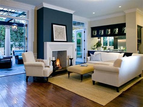 Formal Living Room Accent Wall by 20 Living Room With Fireplace That Will Warm You All