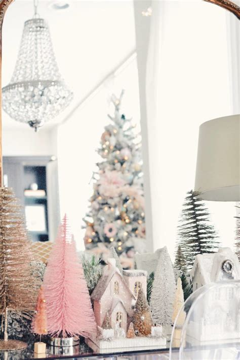holiday home   pink christmas  pink dream