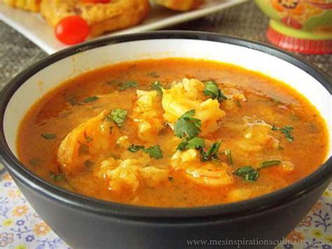 recette de cuisine avec des crevettes les meilleures recettes de soupe et crevettes