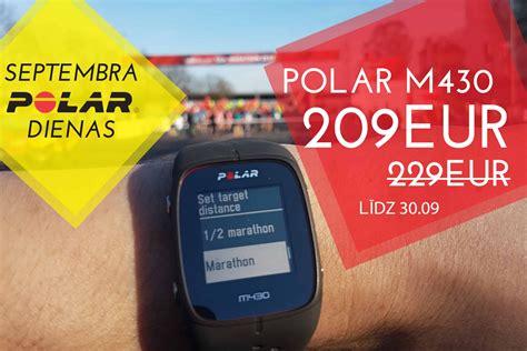 Polar dienas sākas Valmieras maratonā - pulsometrs.lv